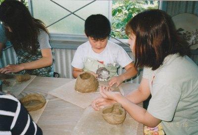 陶芸教室開催しています
